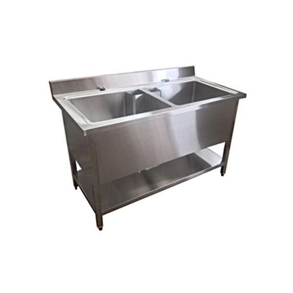 2 bowl sink