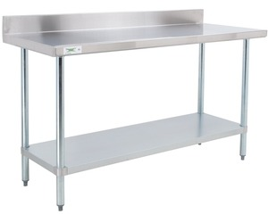 sh-18-gauge 201-stainless-steel-commercial-work-table-with-a-4-backsplash